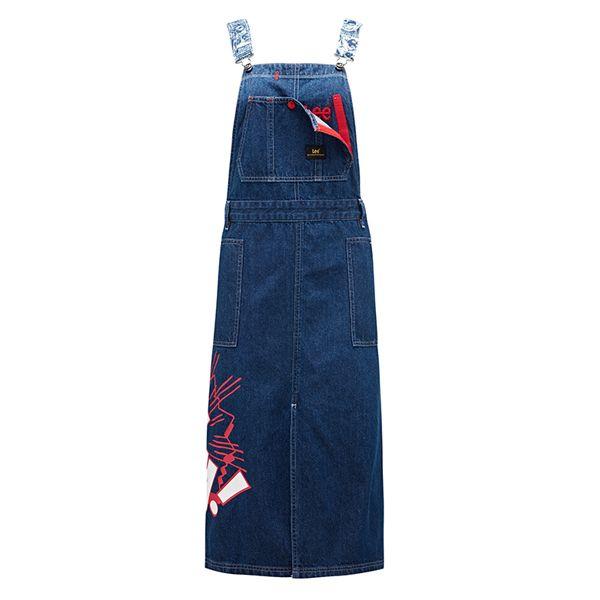 女装牛仔背带裙